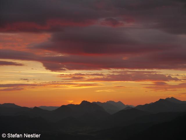 Sonnenaufgang-Walchsee