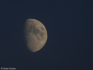 Mond über Oberstdorf
