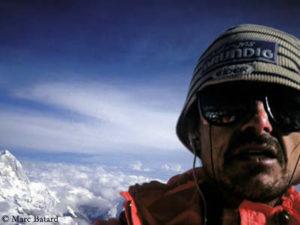 Marc auf dem Gipfel des Everest