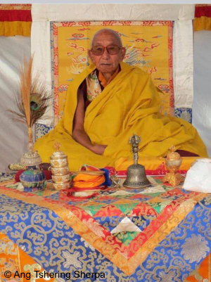 Ngawang Tenzin Jangpo Rinpoche