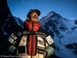 Nirmal Purja at K2