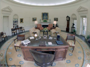 Oval Office in the White House
