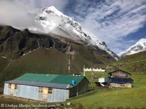 Lhakpa's home village in the Makalu region