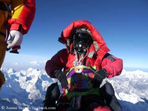 Atanas Skatov auf dem Everest