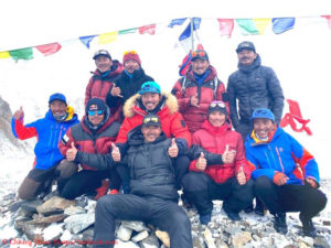 The successful K2 summit team