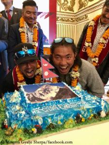 Nirmal Purja und Mingma Gyalje Sherpa