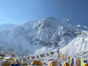 Base Camp at the foot of Annapurna I