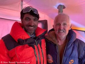 Muhammad Ali Sadpara und Marc Batard
