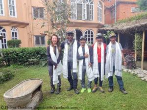 Gelje Sherpa's successful Kangchenjunga team